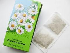 Ромашка лекарственная в чайных пакетиках