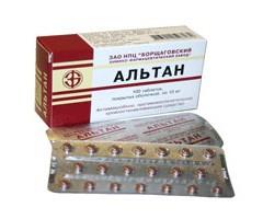 альтан препарат инструкция