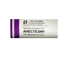 анестезин инструкция по применению мазь цена
