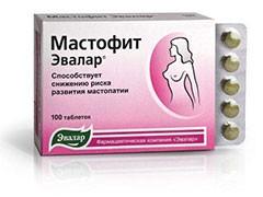Мастофит таблетки инструкция по применению цена