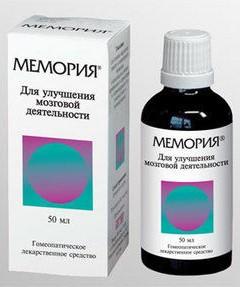 препарат мемория инструкция