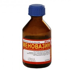 Лекарство Меновазин Инструкция - фото 7