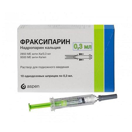 фраксипарин инструкция по применению