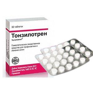 Тонзилотрен инструкция по применению, цены в аптеках, наличие.
